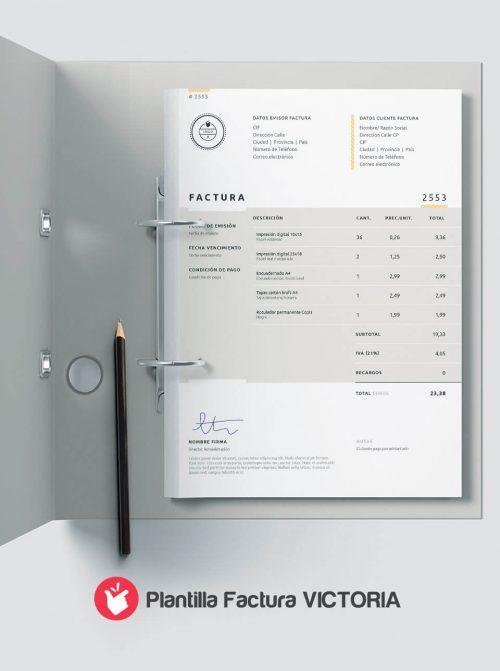 Diseño de facturas