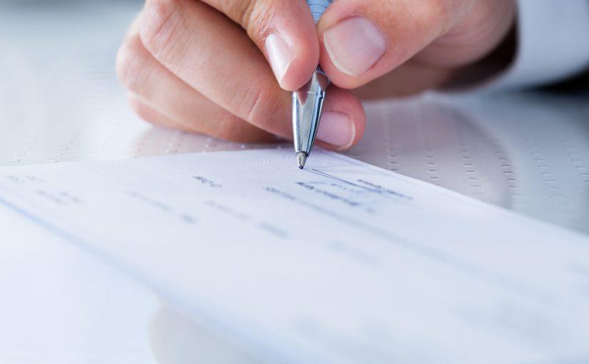 Rellenar una factura en inglés