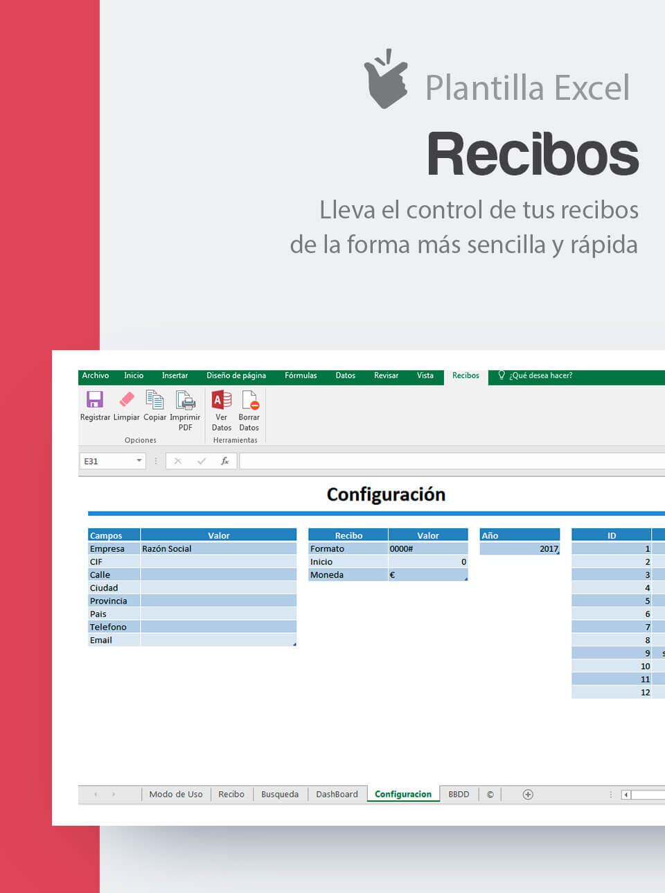 Fantástico Recibos Plantilla Modelo - Colección De Plantillas De ...