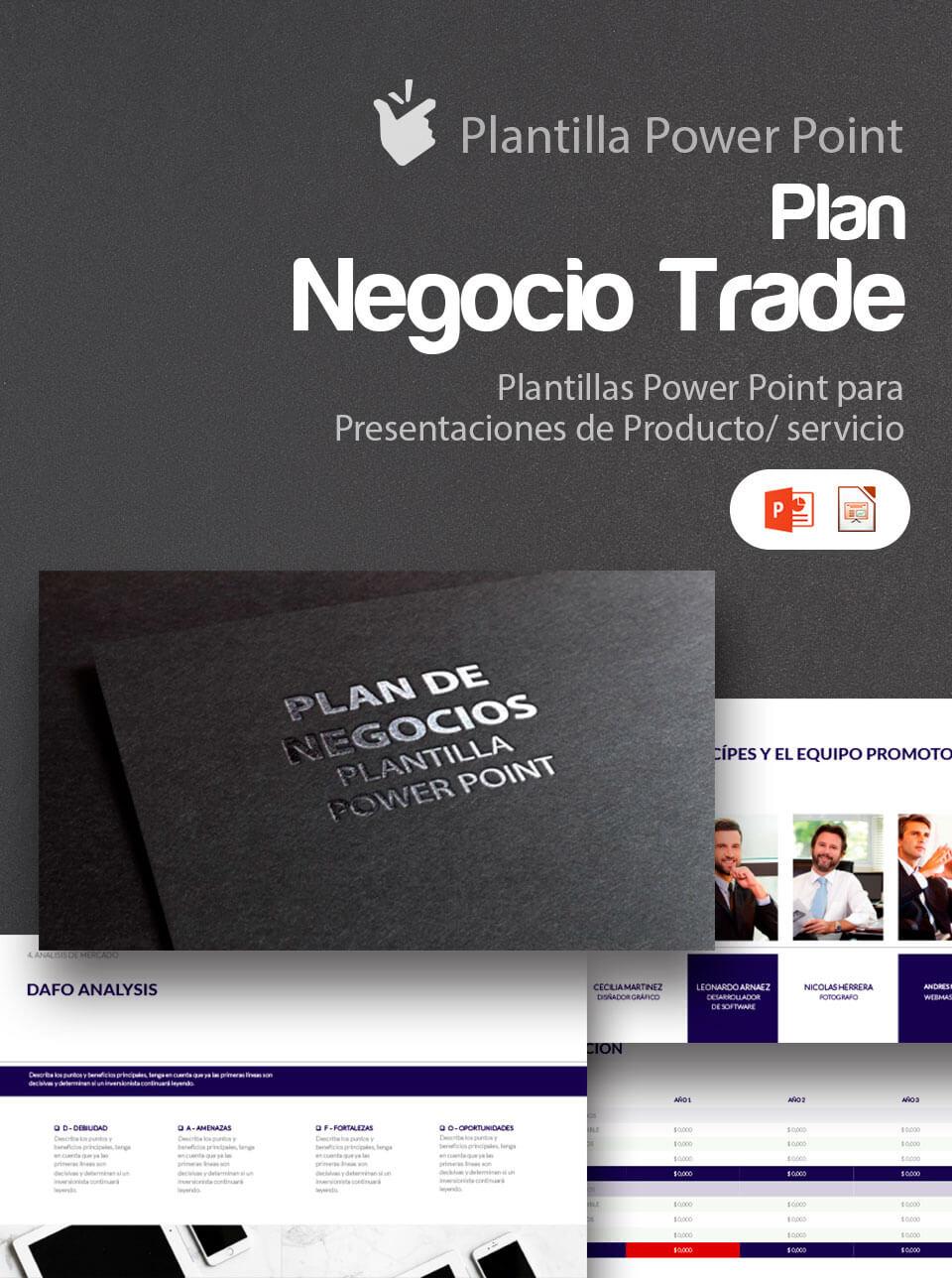 Presentación del plan de negocio