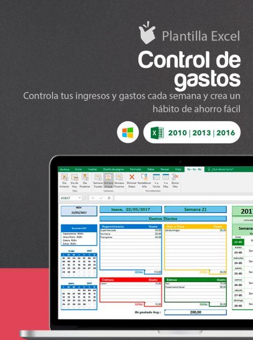 Plantilla Excel Control de Gastos