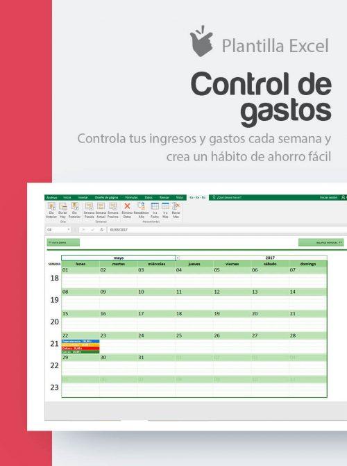 Plantilla Ahorro Personal en Excel
