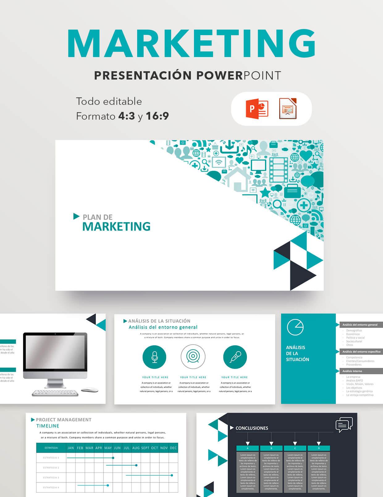 Pack Business | Plantillas Power Point para Empresas | Factufacil