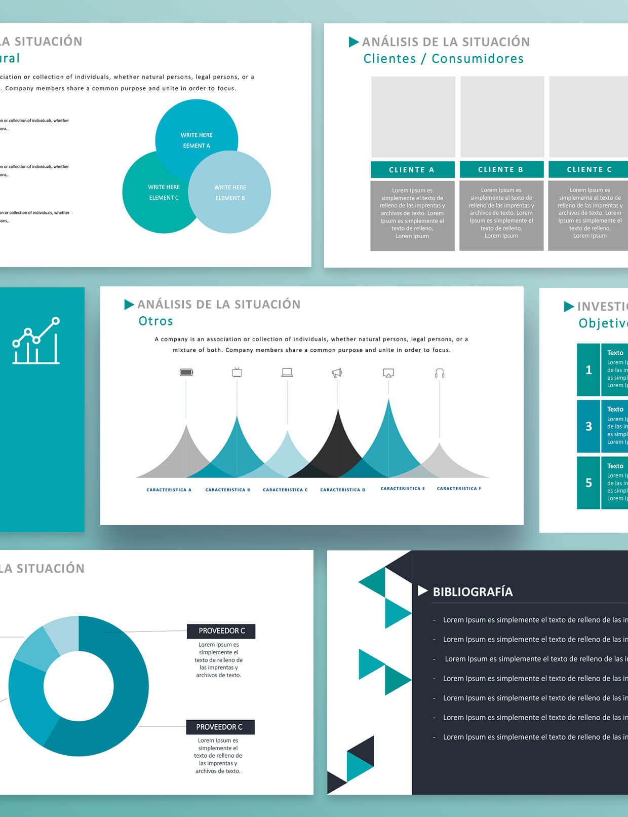 Plantilla Plan de Marketing Smart | Power Point para Plan de Marketing