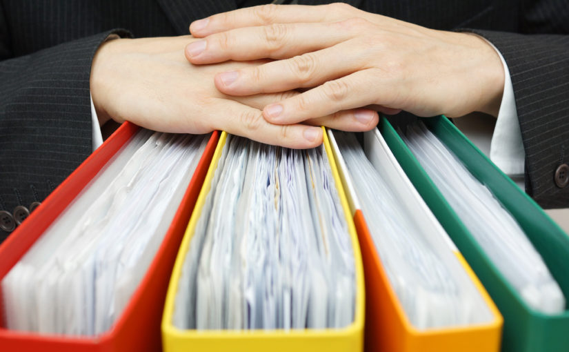 Conservar los documentos empresariales