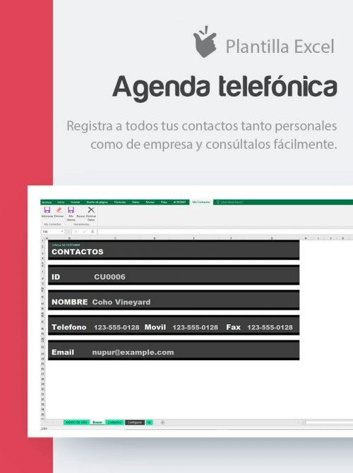 Agenda de teléfono
