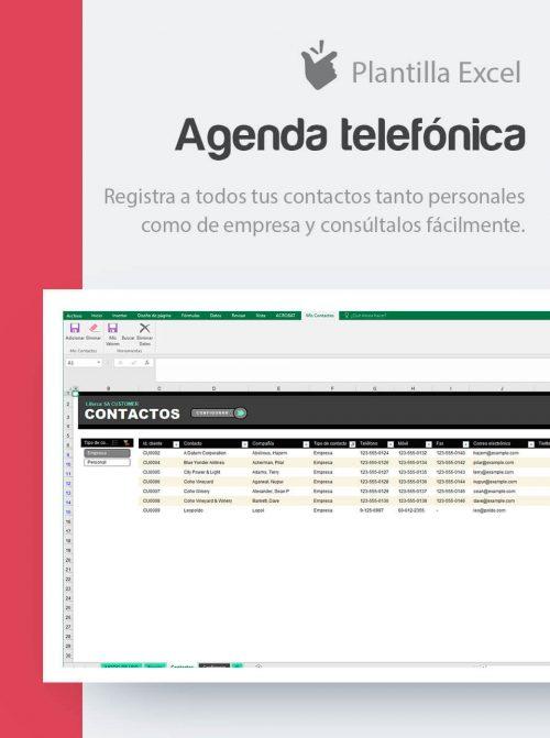 Agenda de contactos