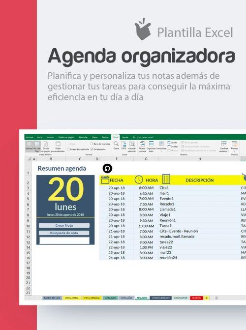 Organiza el trabajo con agendas