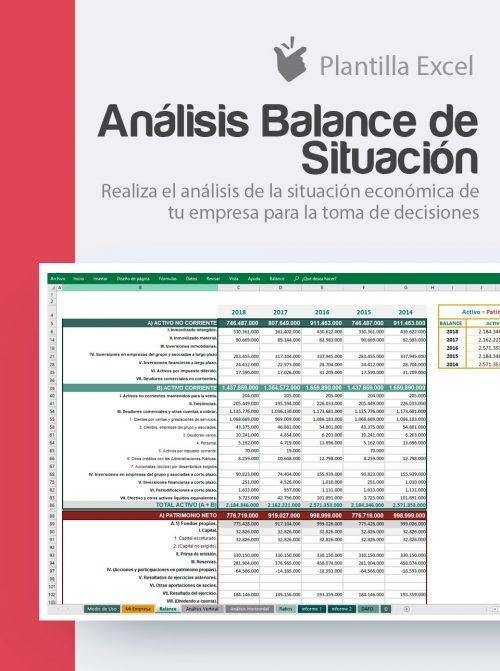 Plantilla de análisis del balance