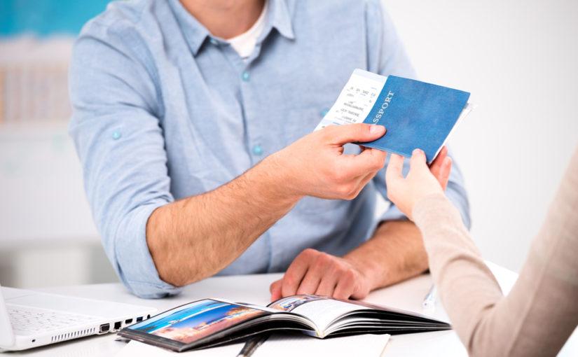 Facturas de la agencia de viajes