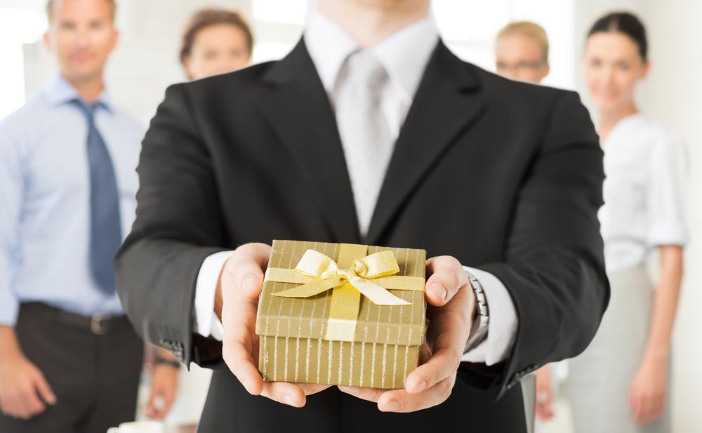 Tributar el regalo de empresa