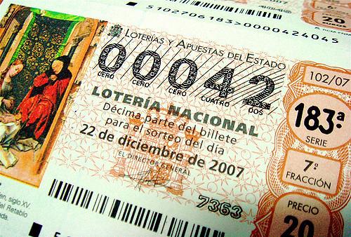 Cómo deducir la lotería