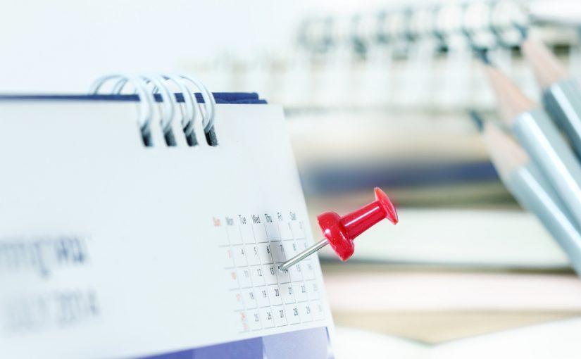 Calendario fiscal para empresas