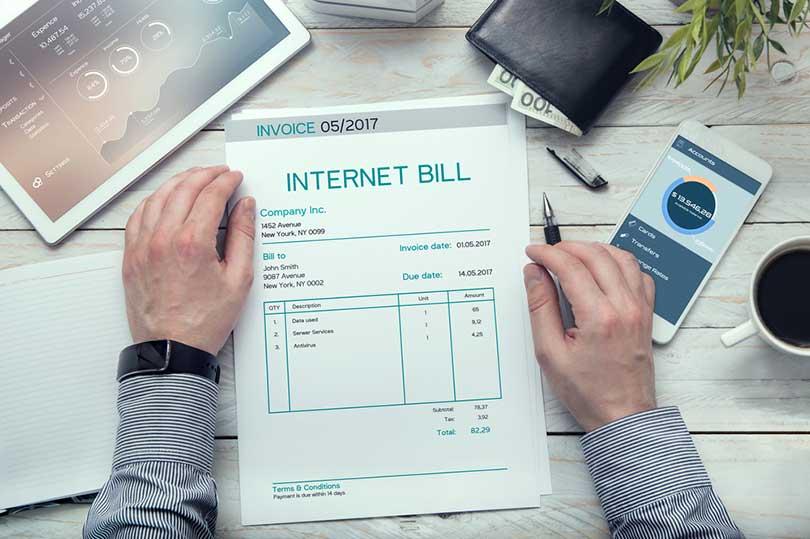 como funciona la facturacion de internet